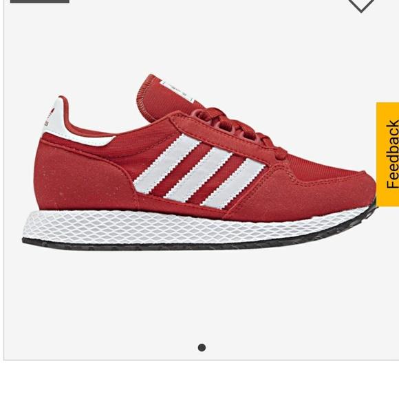 sneakers for cheap 46848 a1275 New kids red Adidas forest grove j